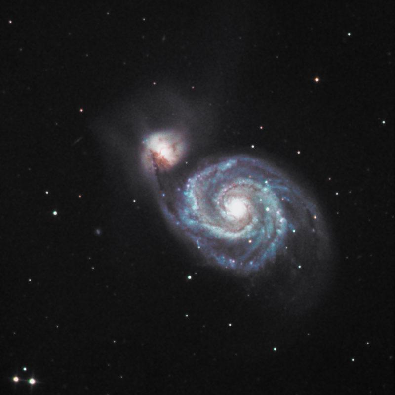 M51 Whirlpool Galaxis 1 scaled 800x800 - Galaxien