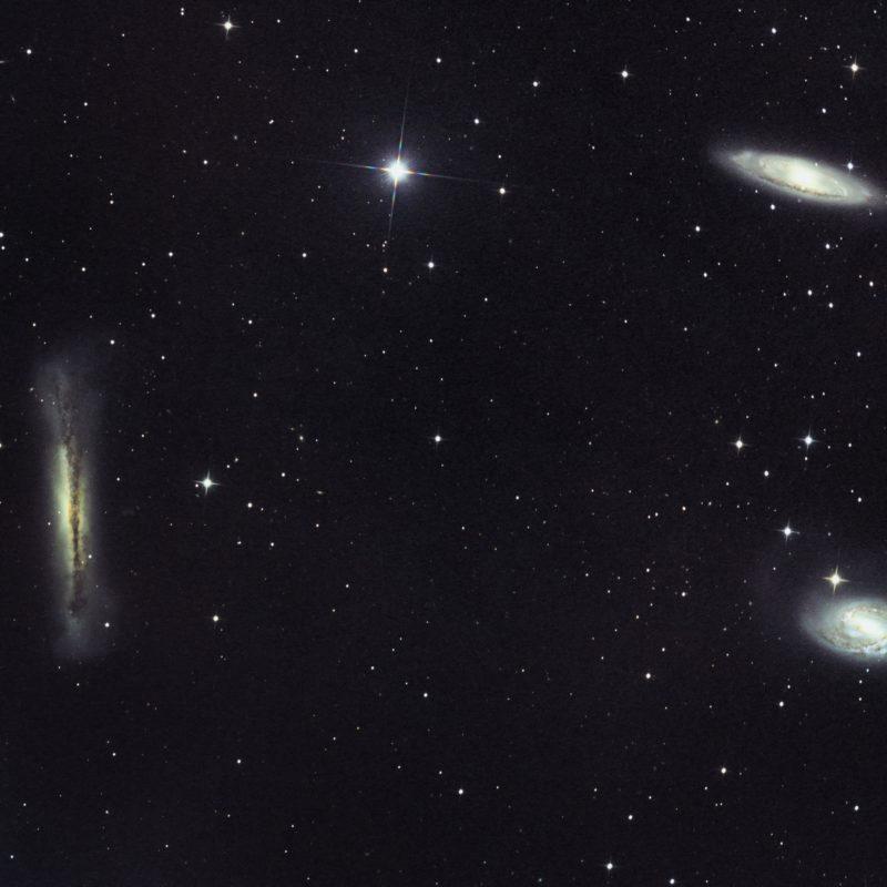 M66 M65 Leo Triplett 800x800 - Galaxienhaufen