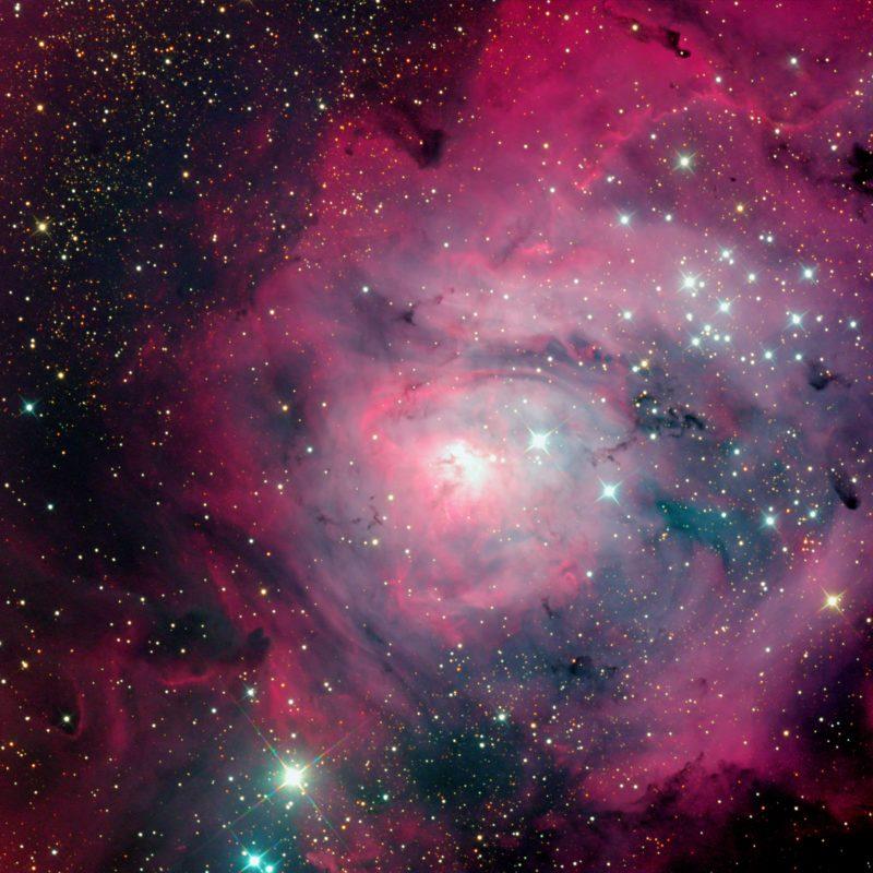 M8 Lagunen Nebel Zentrum 800x800 - Reflexionsnebel
