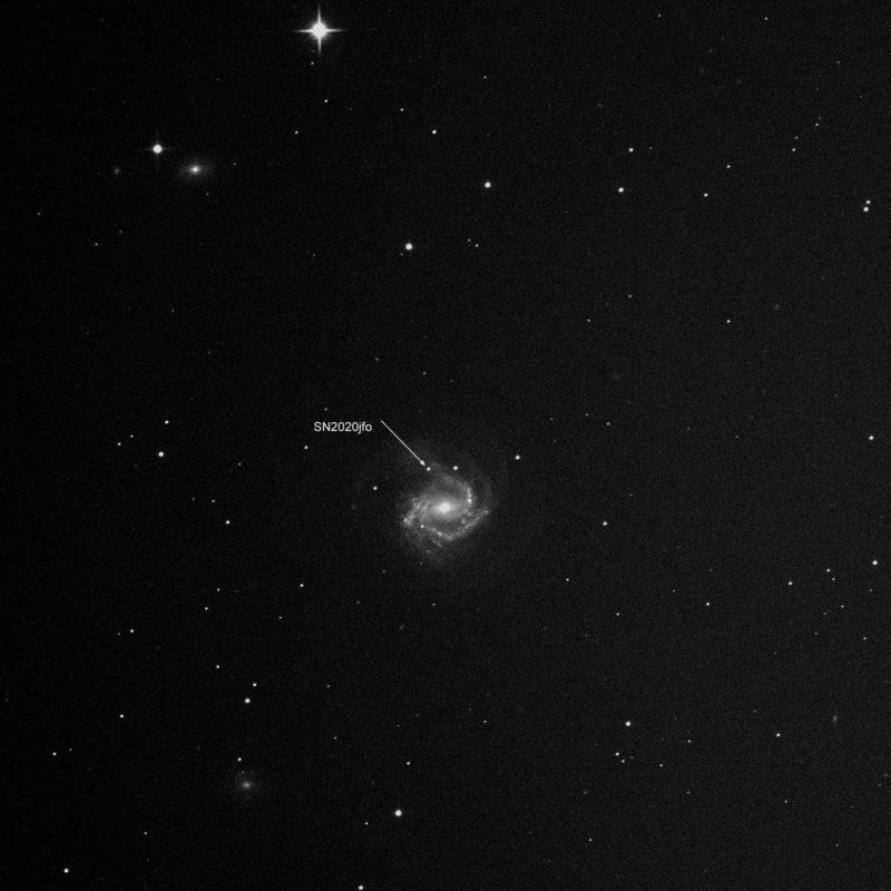 Supernova SN2020jfo M61 800x800 - Interessante Ereignisse