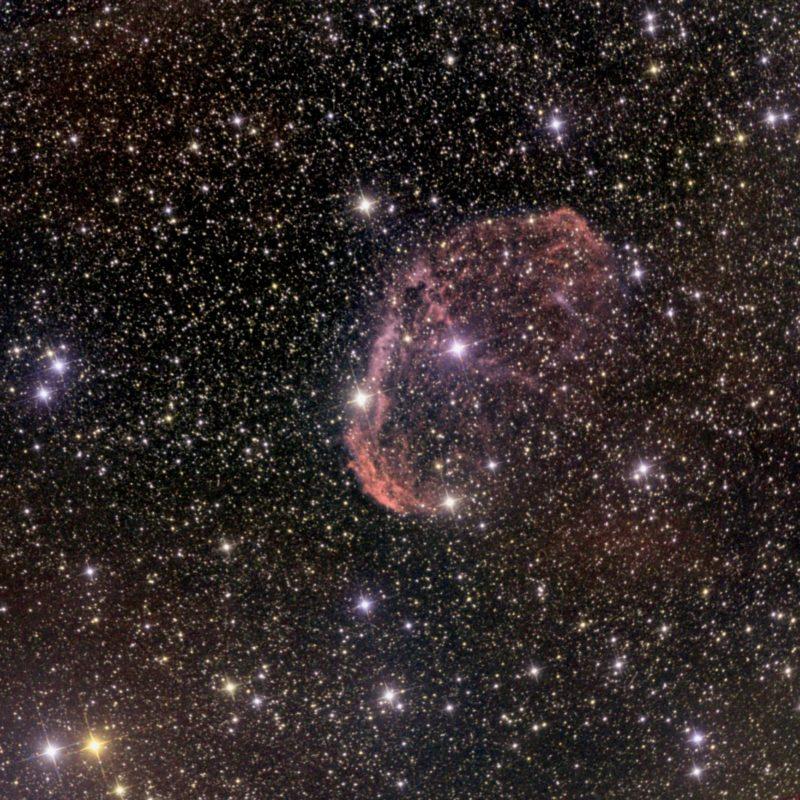 NGC6888 Crescent oder Sichelnebel LRGB scaled 800x800 - Emissionsnebel
