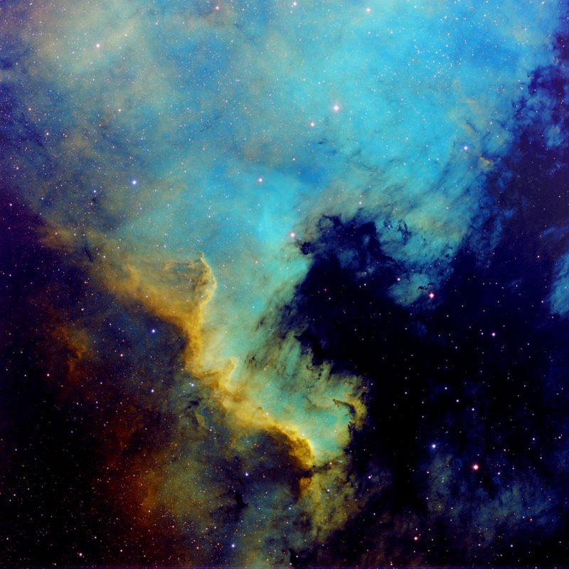 NGC7000 Nordamerika Nebel HST 800x800 - Emissionsnebel