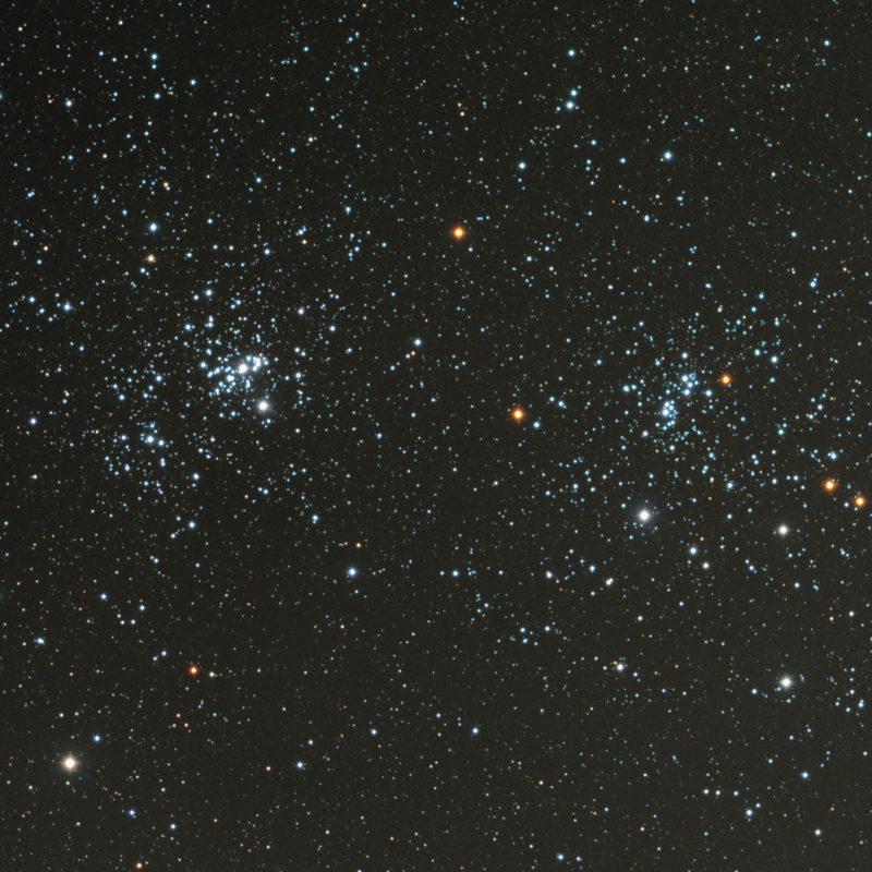 Doppelsternhaufen chi und h Perseus 800x800 - offene Sternhaufen