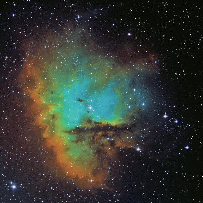 NGC 281 Pac Man Nebel neu 800x800 - Emissionsnebel
