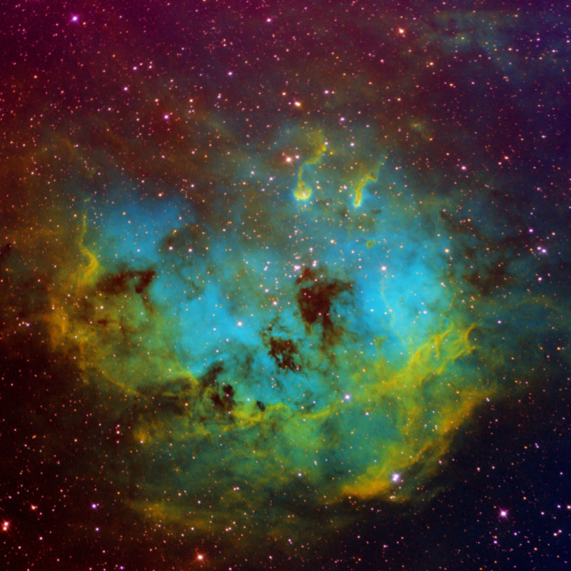 IC410 Kaulquappen Nebel 2 scaled 800x800 - Emissionsnebel