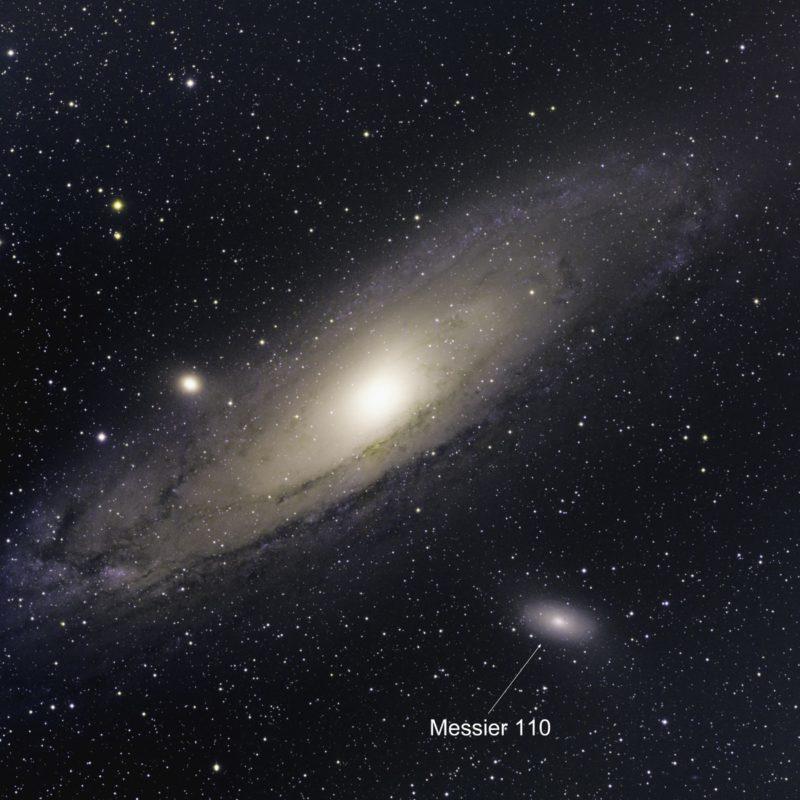 M110 Galaxis scaled 800x800 - Messier-Katalog