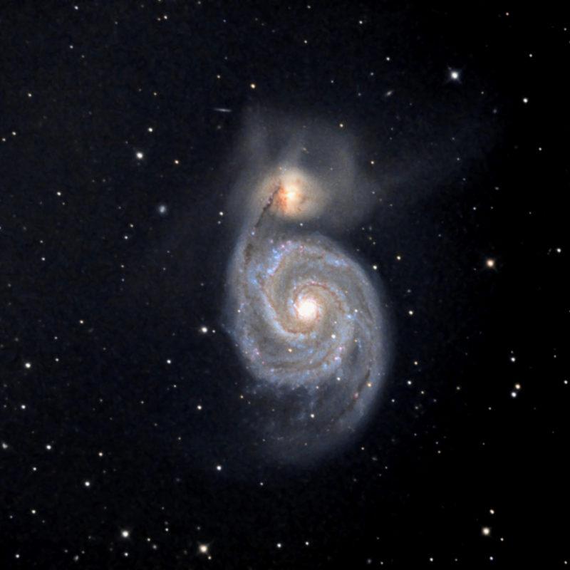 M51 Whirlpool Galaxis scaled 800x800 - Galaxien