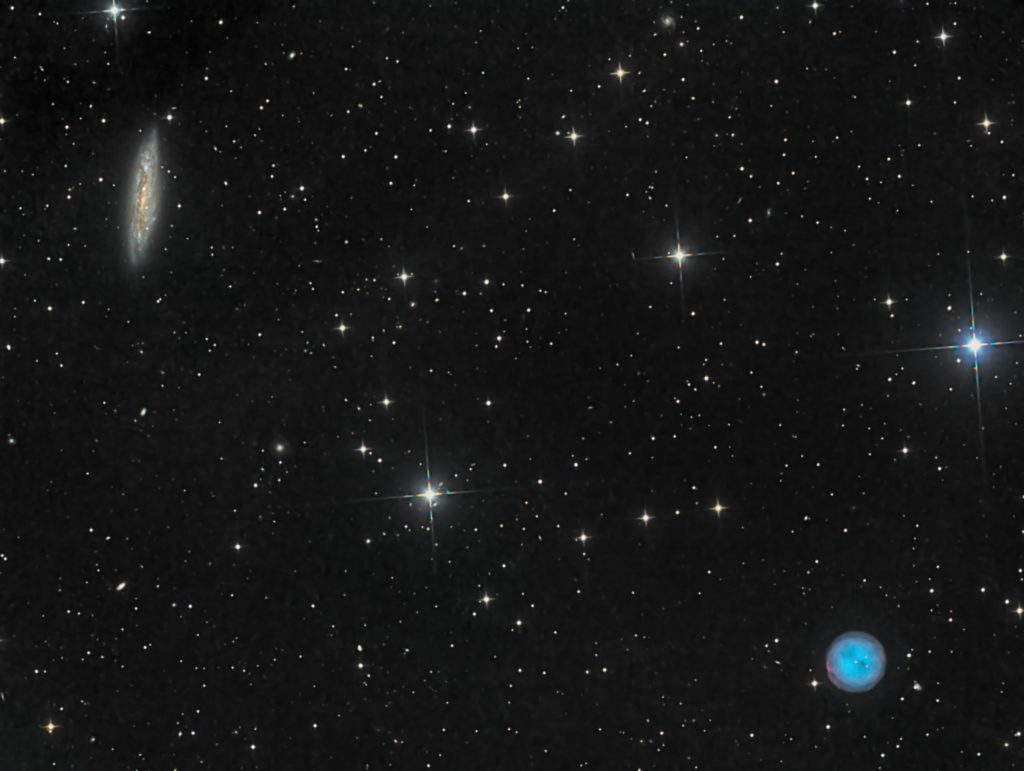 M97 Eulen Nebel M108 Galaxis 1024x771 - Eulen-Nebel