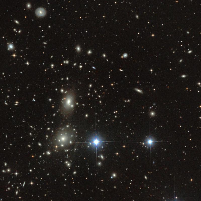 Coma Galaxienhaufen Abell 1656 um NGC4889 und 4874 2 scaled 800x800 - Galaxienhaufen