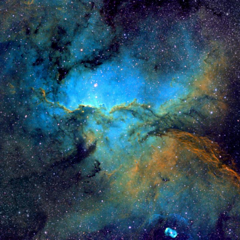 NGC6188 Reflexions und Emissionsnebelbearbeitetecken scaled 800x800 - Nebel der SH