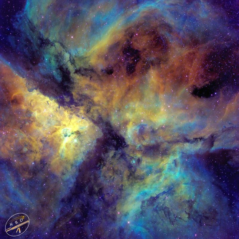 NGC 3372 Eta Carina Center SHObearbeitet scaled 800x800 - Nebel der SH