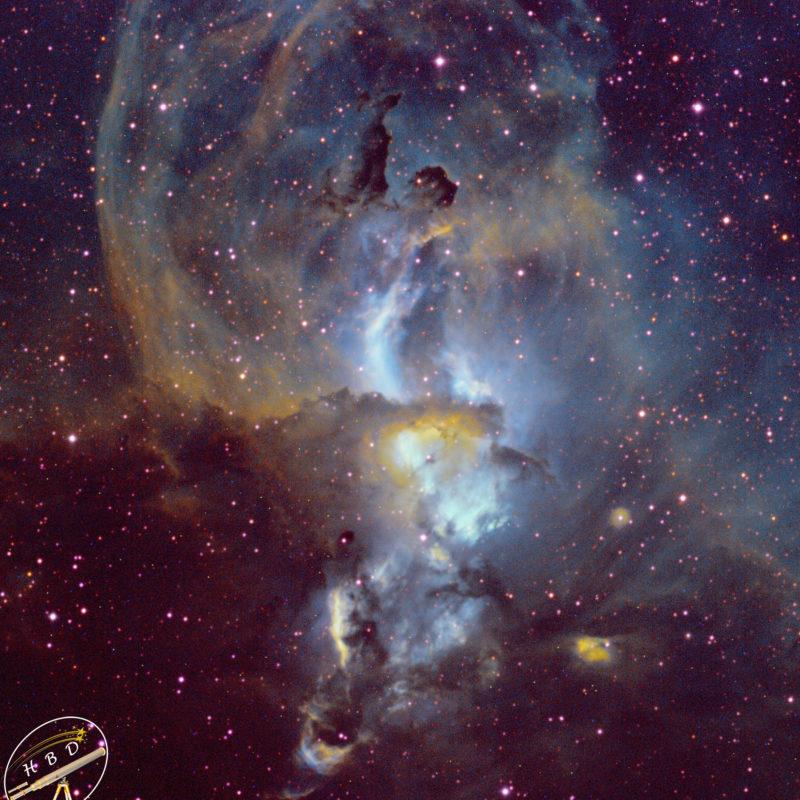 NGC3576 StatueofLibertybearbeitet 800x800 - Nebel der SH
