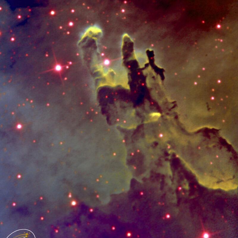 M16 Zentrum Saeulen der Schoepfungbearb 800x800 - Emissionsnebel