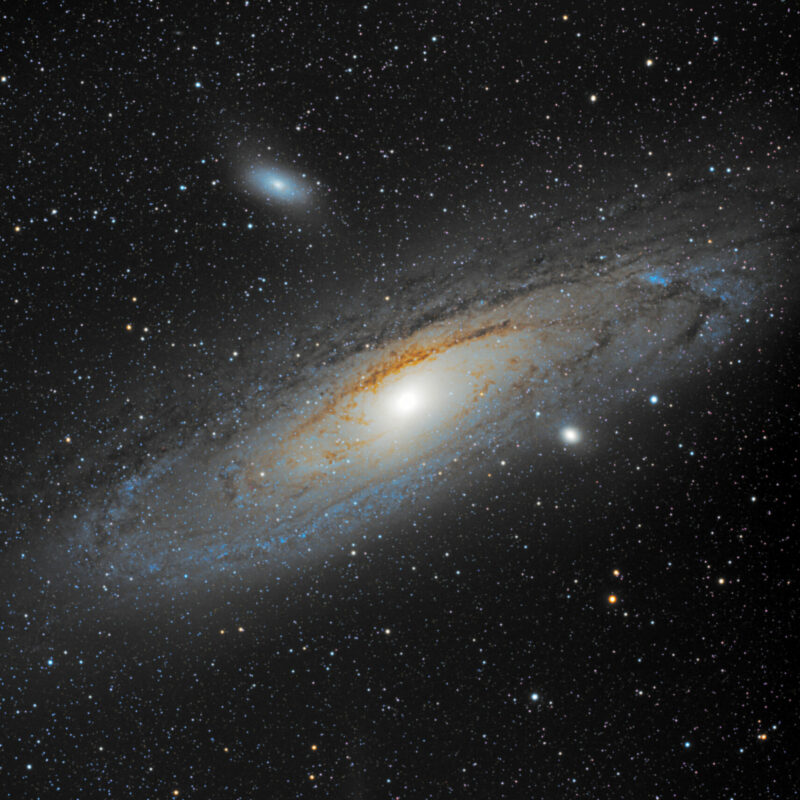 M31 Andromeda Galaxis scaled 800x800 - Messier-Katalog