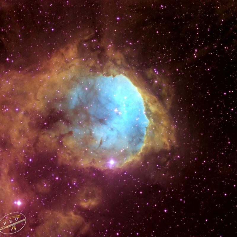 NGC3324 Emissionsnebel 800x800 - Nebel der SH